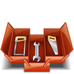 saw, tool box, toolbox, tools icon