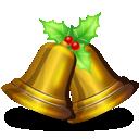 bells, christmas icon