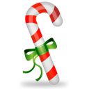 cane, christmas icon