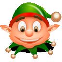 christmas, elf icon