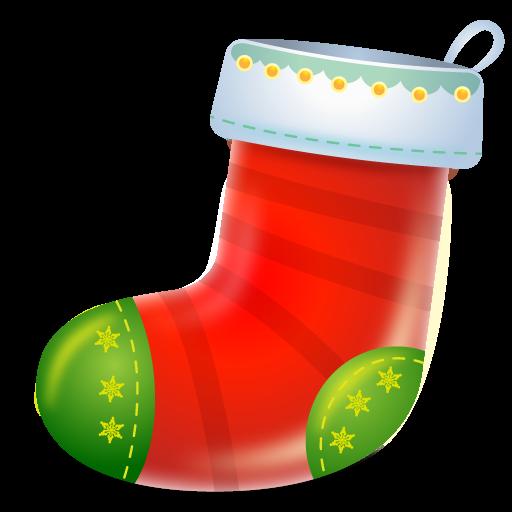 boot, christmas, sock icon