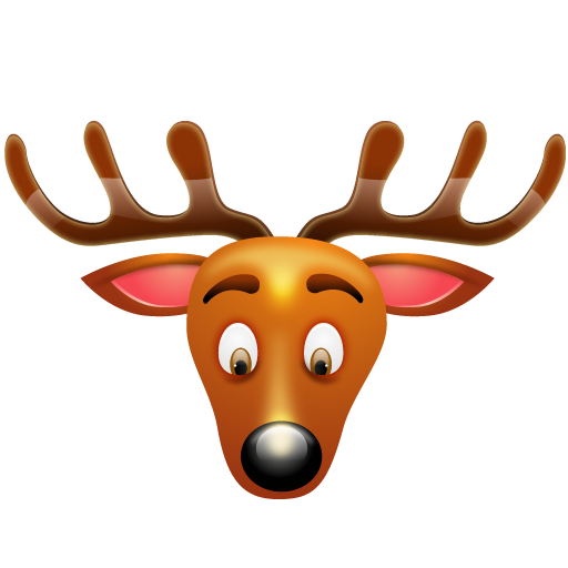 christmas reindeer icon - Christmas Reindeer Pictures