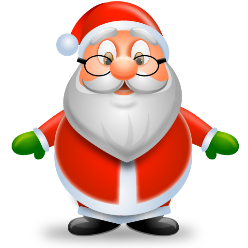 Christmas Icons Png.Christmas Santa Icon