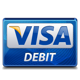 debit, visa icon