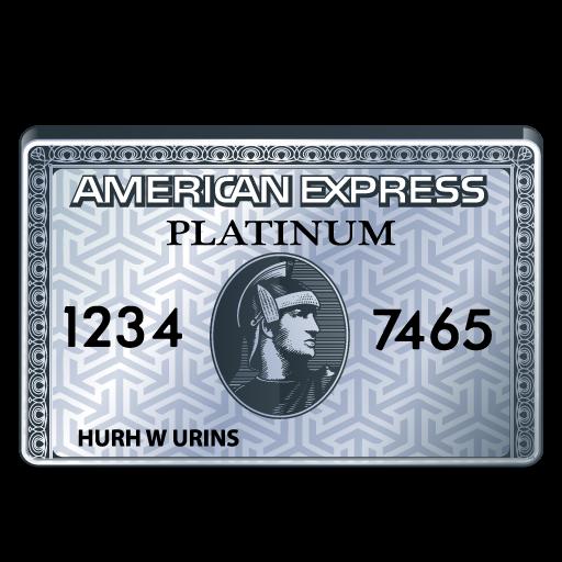 american, express, platinum icon