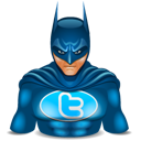batman, super hero, twitter, wonder woman icon