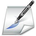 draw, edit, paper, styling, write icon