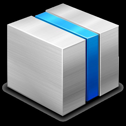 box, module icon