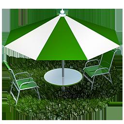beach, picnic, umbrella icon