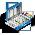 bag, design, photoshop, toolbox icon