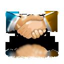hand, partnership icon