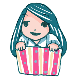 box, girl, in, ll icon