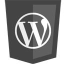 blogging, wordpress icon
