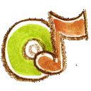 audiocd, natsu icon