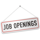 job, openings, sign icon