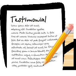 testimonial formats