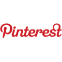 logo, pinterest icon