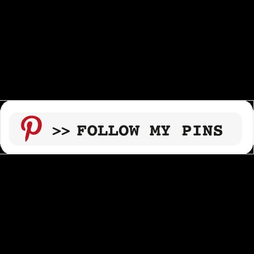 followmypins, pinterest icon