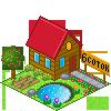 garden, house icon