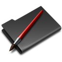 folder, graphics icon