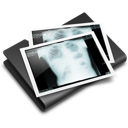 folder, thorax, x-ray icon