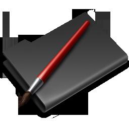 folder, graphics icon