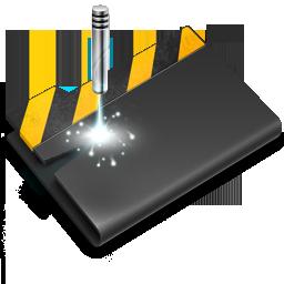 Folder, laser, wip icon - Free download on Iconfinder