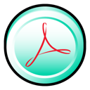acrobat, adobe, cs, distiller icon