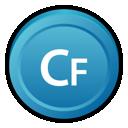 adobe, coldfusion, cs icon