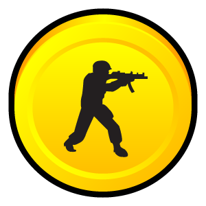 condition, counter, strike, zero icon