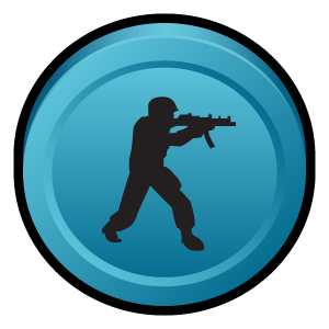 counter, deleted, scenes, strike icon
