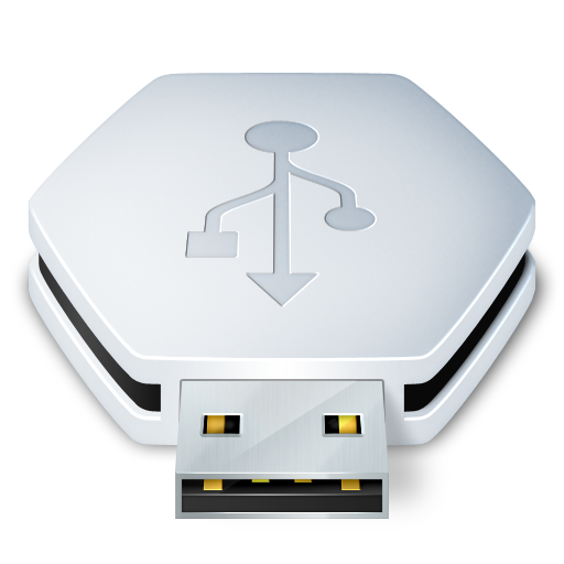 removable, usb icon
