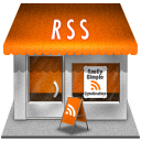 rss, shop, store icon