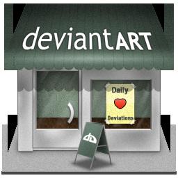 deviantartshop icon