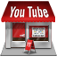 shop, youtube icon