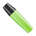 green, shut icon