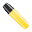 yellow, shut icon
