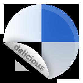 delicious, sticker icon