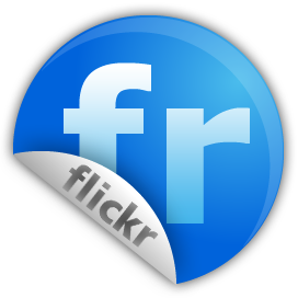 flickr, sticker icon