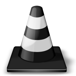 player, traffic cone, vlc, whack icon