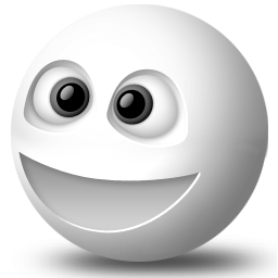 Happy Face Messenger Smiley Whack Yahoo Icon