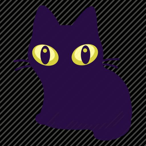 Cat, feline, halloween icon - Download on Iconfinder