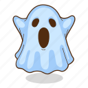 ghost, halloween, spirit, spooky icon