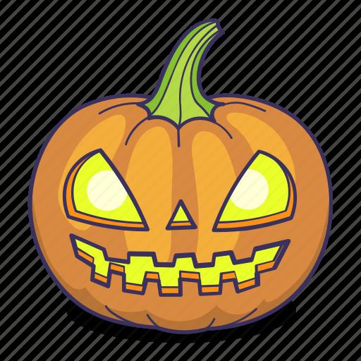 Halloween, jack o lantern, pumpkin icon - Download on Iconfinder