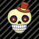 bone, dead, halloween, skull