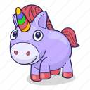 horse, magic, unicorn icon