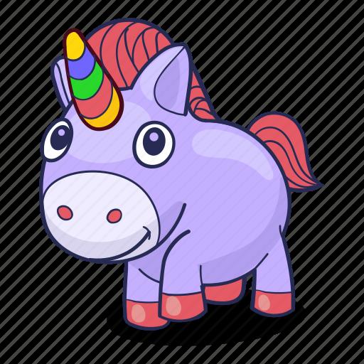 Unicorn, 🦄 icon - Download on Iconfinder on Iconfinder
