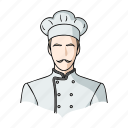 chef, cook, cooking, master, profession, restaurant icon