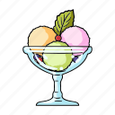 candy, cup, dessert, food, glass, ice cream, sweetness icon