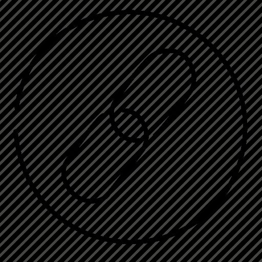 hyperlink, link, url icon